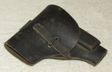 WW2 Period Italian Army Issue Green Leather 9mm Beretta Holster