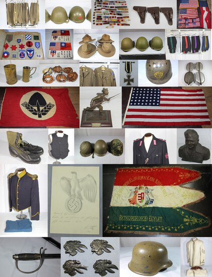 MILITARY COLLECTIBLES AUCTION  SAT. 4-25-20 2pm