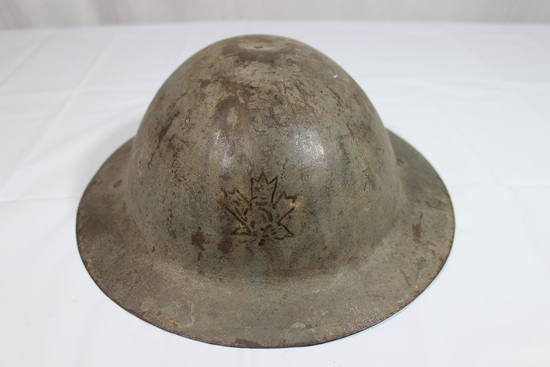 WW1 Canadian 5th Infantry Division Helmet