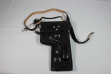 East German Flare Pistol Holster. Unused. Nicely Marked. W/ Strap.