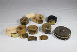 Lot of 10 US WW2 Uniform Belts & Buckles.