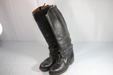 Early 1950's State Trooper Motorcycle Boots. Dehner's of Omaha. Rare.