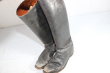 US Made Civilian Equestrian Riding Boots. 6 1/2 F. Heavily Worn.
