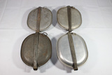 4 US WW1 Mess Kits. No Contents. 1 Is French Made.