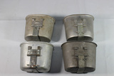 Lot of 4 US WW2 Canteen Cups. 1 Is Post War.
