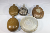 Lot of 5 World Canteens. WW1 German, Commercial, & Russian,.