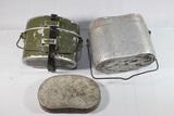 Mess Kit Lot. 1 WW2 German. North Korean Pieces.