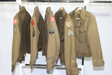 Lot of 5 US WW2 & Occupation Ike Jackets. Patched. Some Condition Issues.
