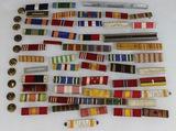 Ribbon Bar Lot. Approximately 51 Pieces.