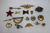 16 Miscellaneous Mostly Foreign Pins. Russian. British.