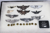11 Pieces Lot. Wings. Some Post War. Some Reproductions. Several Unknown Foreign.