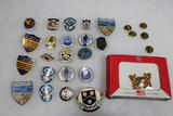 22 Pieces of Mostly US Vietnam Era Navy Pins.