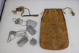 US Dog Tag Lot. With Miscellaneous Pieces.