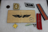 WW2 German Lot. Nice Ribbons. Mostly Reproduction Pieces.