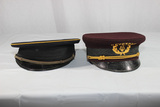 Lot of 2 Pre WW2 Marching Band Visor Caps.