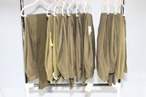 10 Pairs of US WW2 Enlisted OD Green Wool Uniform Pants.