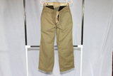 US WW2 Army Cold Weather Wool Lined Pants. Waist Extension Added. Unmarked.