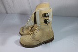US WW2 White Wool Fur Felt Cold Weather Boots.  Rare.