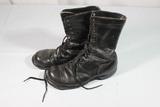 US Vietnam War Corcoran Jump Boots. 7 1/2 E. Heavily Worn.