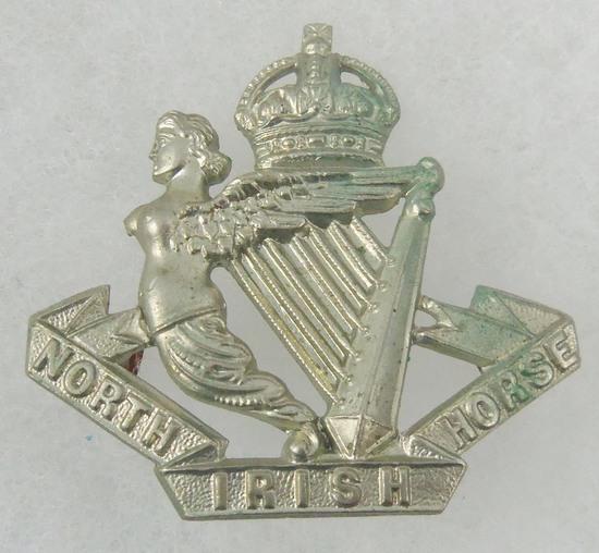 North Irish Horse Cap Badge