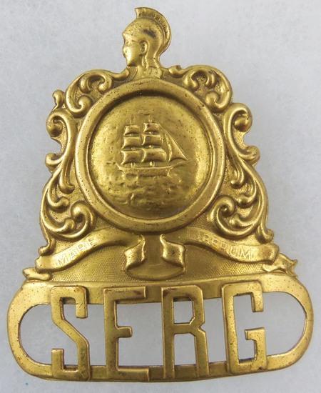 Boers War? SERG Cap Badge