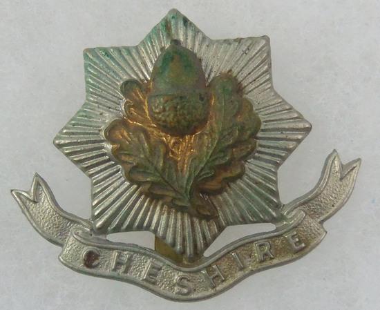 The Cheshire Regt Cap Badge 1898-1922