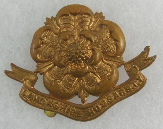Lancashire Hussars Imperial Yeomanry Regiment Cap Badge