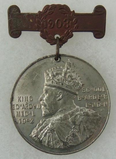 King Edward VII Award School Board For London - Named