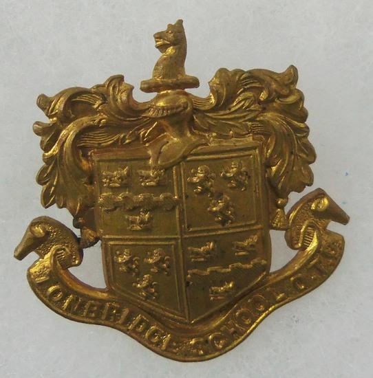 Tonbridge School O.T.C. Cap Badge