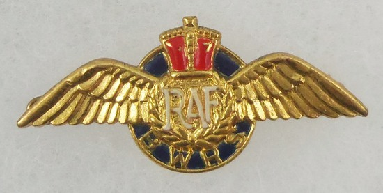 WW2 British War Relief Society RAF Wings