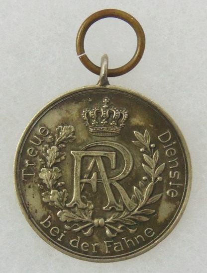 Saxony Kingdom. Long Service Award III class for 9 Years Service 1913-1918 issue