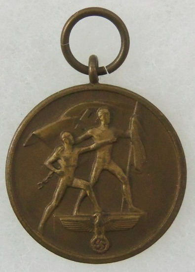 German Sudetenland Commemorative Medal