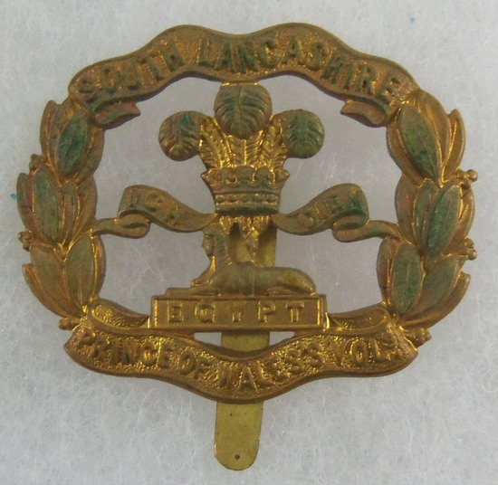 1916 South Lancashire Regiment Cap Badge