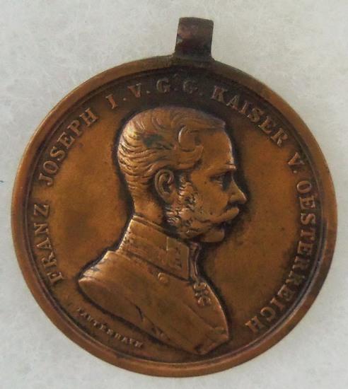 WW1 Austria/Hungary Bonze Franz Joseph I Bravery Medal