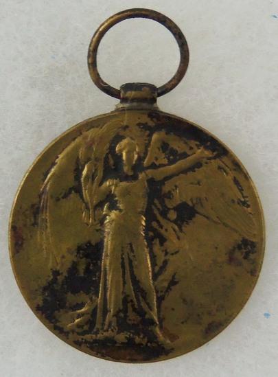 WW1 Victory Medal (United Kingdom) - Named