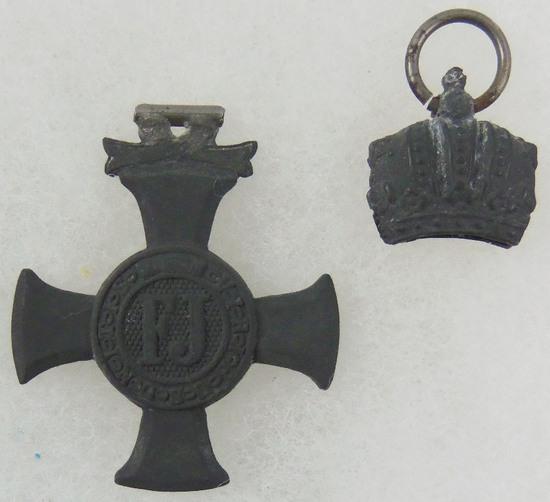 WW1 Austria Hungary 1916 FJ Merit Cross Medal