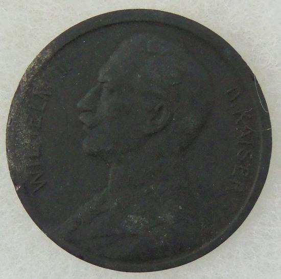 Rare Wilhelm II Deutsche Kaiser Commemorative Coin