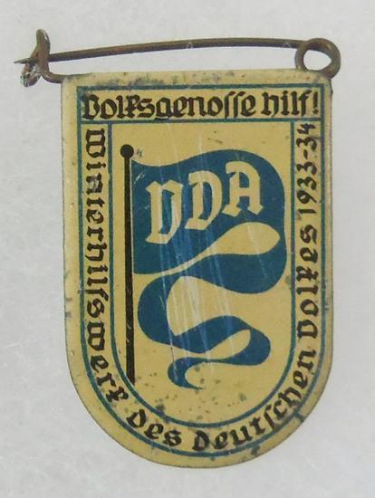WWII German DDA Tinnie Badge