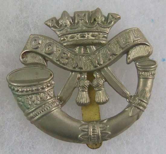 Pre-1914 Duke of Cornwall Light Infantry Regiment Cap Badge