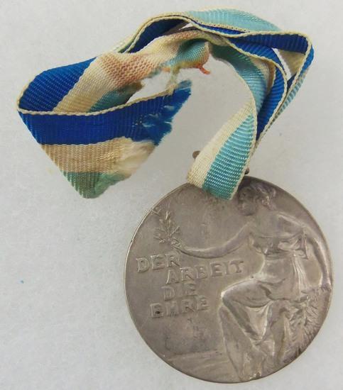 "Pre-WW1 German ""Der Arbeit Die Ehre"" Medal"