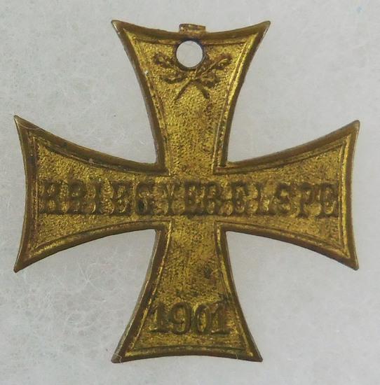 1901 Krieg Ver Elspe Cross