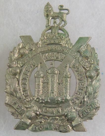 King's Own Scottish Borderers Glengarry Badge