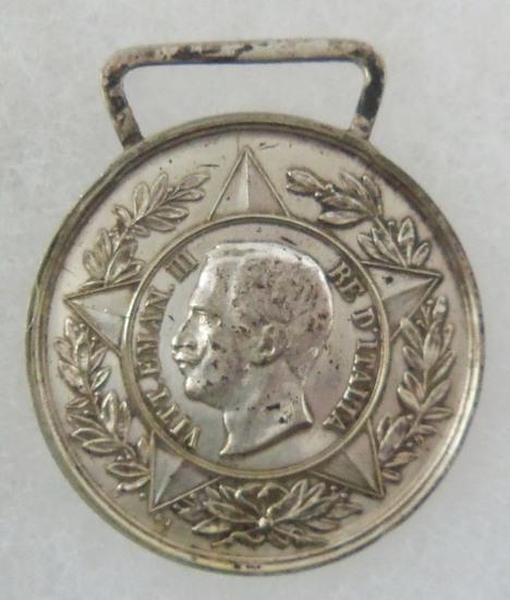 Post WW1 Italian Veteran's Guard of Honor-Tombs of King Umberto I/Vittorio Emanuele II Medal