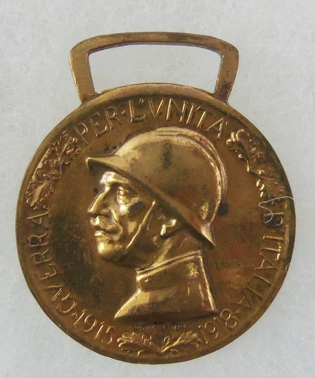 WW1 1915 Italian Unification Medal