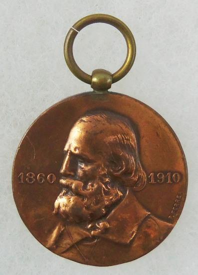 Pre-WW1 Italian Labor School 1860-1910 Medal Pendant