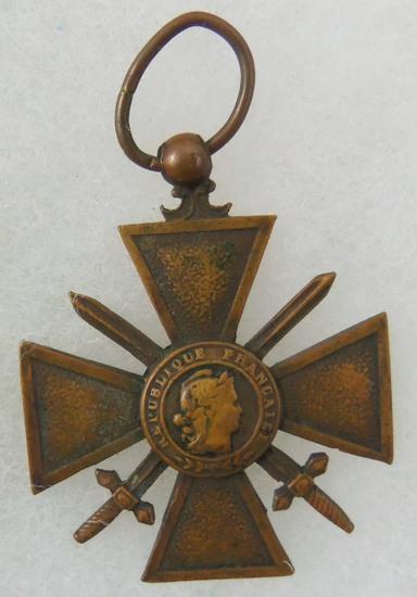 WW1 France War Cross 1914-1918