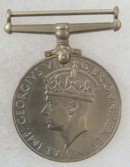 WW2 British Silver War Medal