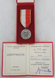 Poland 40th Anniversary of the People's Republic 1944 – 1984 Medal/Award Document
