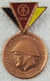 DDR East German Medal For Faithful Service in the National People's Army Reserve - Bronze
