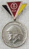 DDR East German Medal For Faithful Service in the National People's Army Reserve - Silver